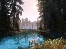 Skyrim Scenic River