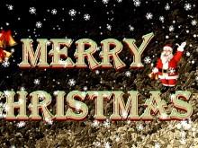 Christmas Snow Santa