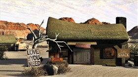 Desert LOVE Shack Logon