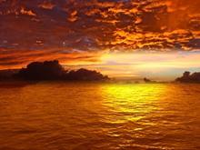 amazing sunset logon