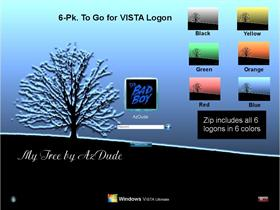 My Tree 6pk assortment for Vista Logon