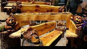 Bear Benches 2 PK