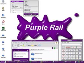 Purple Rail