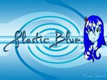 Plastic blue 2