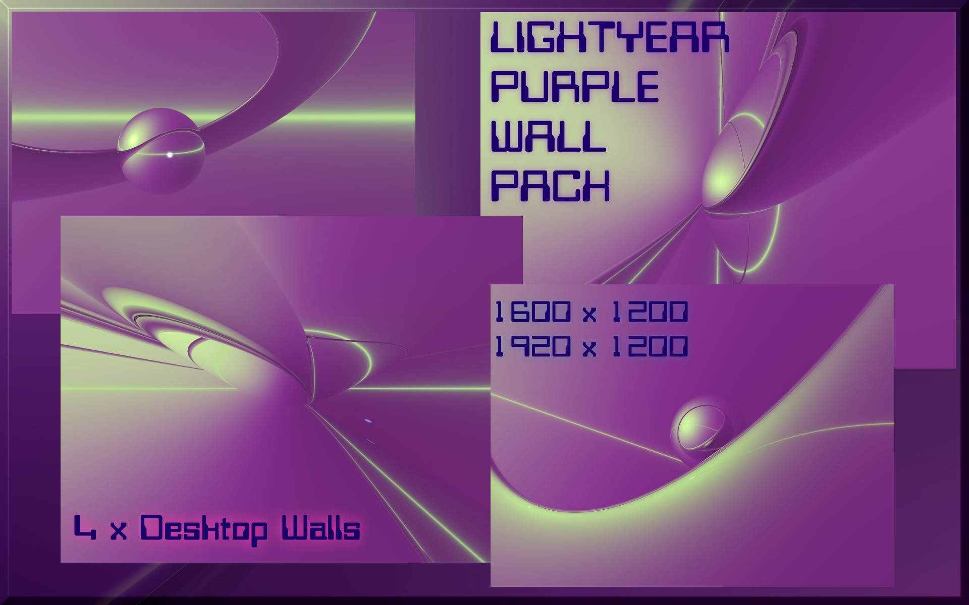 Lightyear Purple Wall Pack