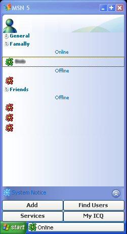 MSN 5 XP