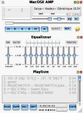 MacOSX AMP FR