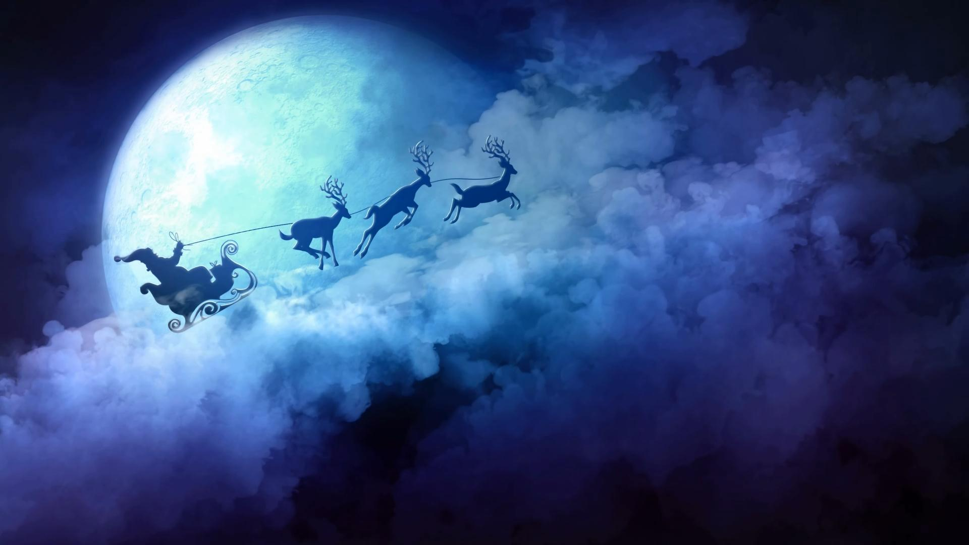 christmas moving wallpaper