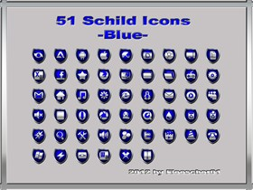 Schild Icons_Blue