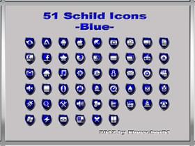 Schild Icons_Blue
