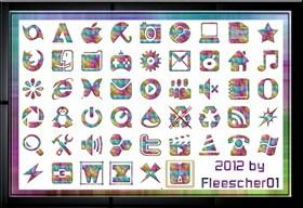 Kunterbunte Icons