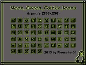 Neon_Green_Folder_Icons