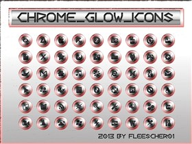 Chrome_Glow_Icons