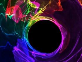 blackhole color radiation