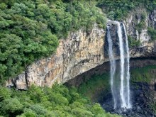 caracol falls brazil