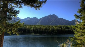 alberta canada mountains birdslover version