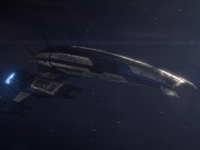 Mass Effect 3: Normandy SR-2 In Space