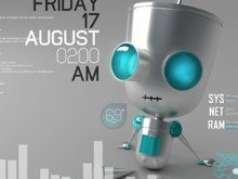 Chillin&#39; Bot Desktop v2.0 for Rainmeter