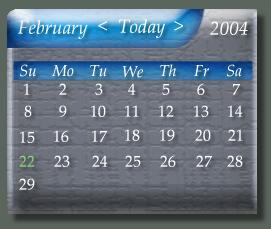 terra DX calendar