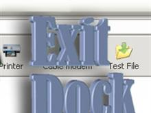 Exit Dock 3D