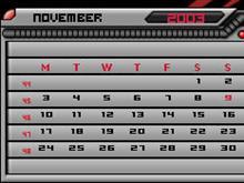 Apollo calendar