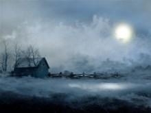 Moon Light Fog