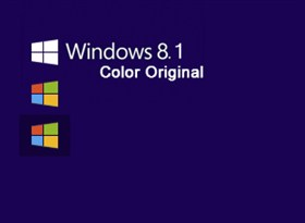 Windows 8.1 Color Original Button