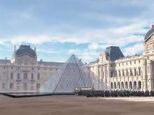 Early Morning at the Louvre