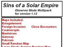 Observer Map Pack ver 1.12