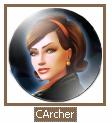 Cate Archer plate