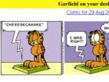 Garfield on your Desktop