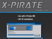 X-Pirate animations