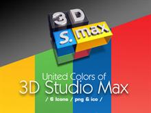icons United colors of 3d Studio MAX