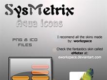 SysMetrix Aqua Icons