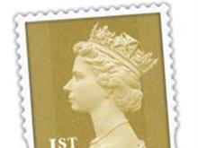 English First Class Stamp/Mail Icon