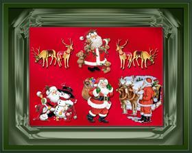 Santas On Parade