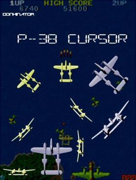 P-38 cursor