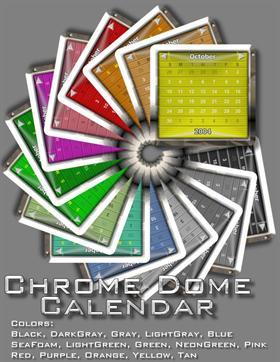 ChromeDome Calendar