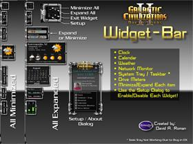 GalCiv II WidgetBar