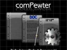 comPewter (Default Icon, DOC, INF Settings)