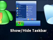 Show/Hide Taskbar Icon