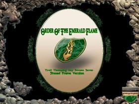 Order Of The Emerald Flame (Stoned Frame Version)