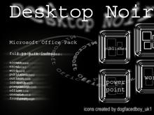 Desktop Noir Office Pack