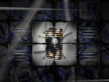 Alien Underground Blue