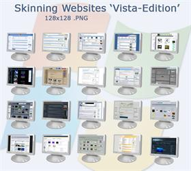 Skinning Website Icons - VISTA EDITION