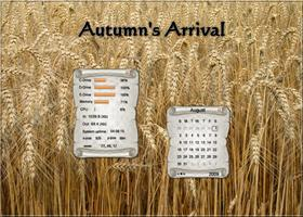 Autumn&#39;s Arrival Widget Pack