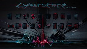 Cyberstorm 2.7 Iconpack
