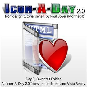 Icon-A-Day 2.0, Day 9, Favorites Folder