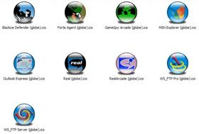 Internet Apps 2 XP Icons (Globe)