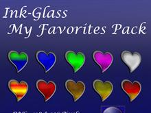 Ink-Glass Favorites Pack